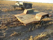Army 2 Wheel Flatbed Trailer