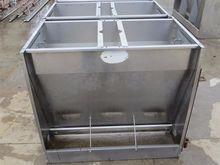 Hog Slat Jumbo Dry SS Hog Feede