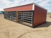 Larson Metal Inc Cattle Shed Wi