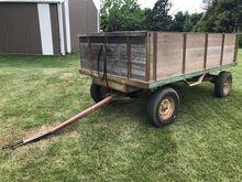 Heider Wooden Barge Wagon w/ Ho
