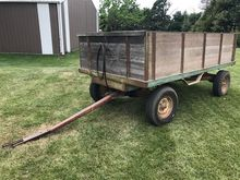 Heider Wooden Barge Wagon