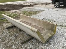 Concrete Feed Bunk