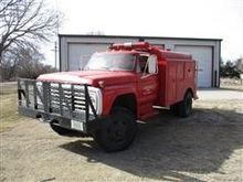 1979 Ford F600 4X4 Fire Truck