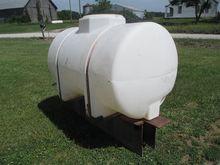 325 Gallon Poly Tank on Steel F