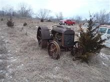 Fordson D 2WD Tractor