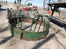 Used Round Bale Feed