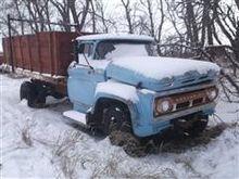 1962 Chevrolet C6500 Grain Truc