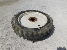 Firestone 12.4-38 Tire On Rim
