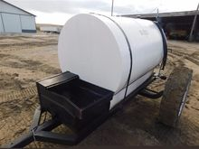 Shop Made Fuel Tank and Trailer
