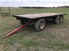 T/A Flatbed Hay Wagon