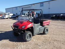 2011 Honda MUV700 Big Red UTV
