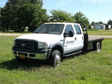 2006 Ford F550 Crew Cab Flatbed