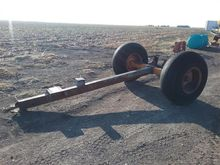 Axle With 8 Bolt Wheels And Hub