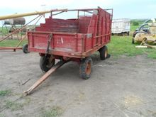 Wooden Forage Wagon