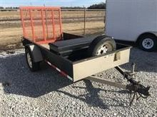 2005 H&H Flat Bed Trailer with