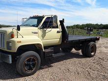 1992 GMC Top Kick Flatbed Truck