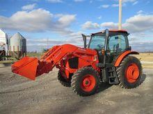 2014 Kubota M110GX MFWA Tractor