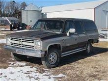 1986 Chevrolet K20 Suburban