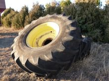 Blem Tire & 10 Bolt Rims