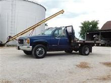 1999 GMC 3500 Flatbed Dually  T
