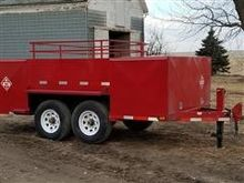 Custom Fuel Trailer w/Generator