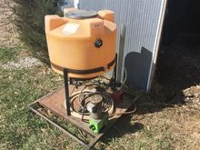 Used Tank and Pump i