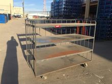 4 Wheel Warehouse Cart