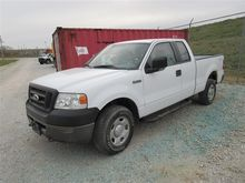 2008 Ford F150 Extended Cab 4X4