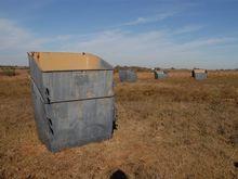 3 Yd Side Load Dumpsters