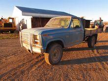 1986 Ford 4X4 F-250 Pickup