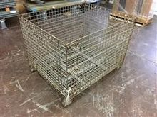 Steel Cage Storage Containers
