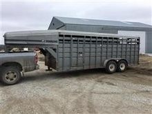 1996 Travalong T/A Livestock Tr