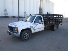 1997 GMC 3500 Flatbed Truck