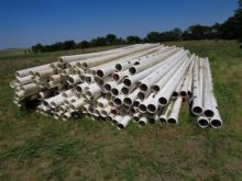 Various Length 6 Pvc Gated Irrigation Pipe 30 Gateing