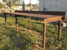 Steel Workbench with Vice