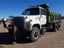 1986 Ford LT8000 T/A Dump Truck