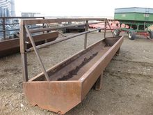 Fenceline Feed Bunk