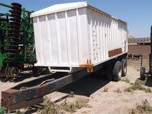 Homemade T/A Forage/Grain Wagon
