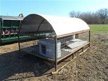 Shop Built Hog Feeding Floor
