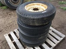 7.00x15 Implement Tires On Rims