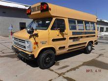 1989 Chevrolet Van 30 School Bu