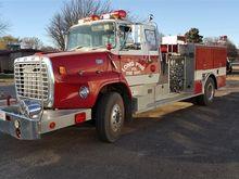 1979 Pierce Pumper Fire Truck