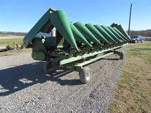 John Deere 893 Corn Header w/Tr