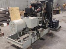 White Diesel Generator
