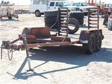 Used T/A Flatbed Tra