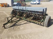John Deere B Grain Drill w/Seed