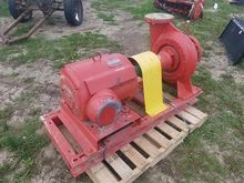 Water Pump With Electric Motor