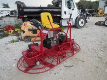 Seated Concrete Power Trowel