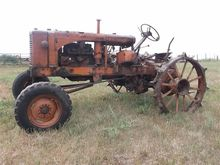 Allis Chalmers WC 2WD Tractor F