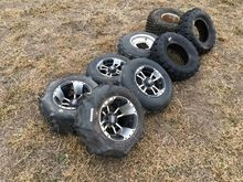 Assorted ATV Tires and Rims